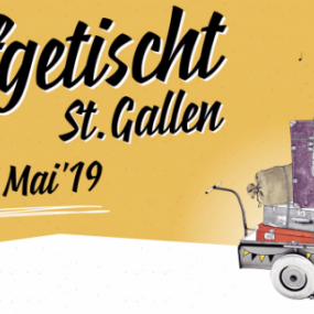 Aufgetischt St. Gallen 10.11 may St. Gallen, SWITZERLAND